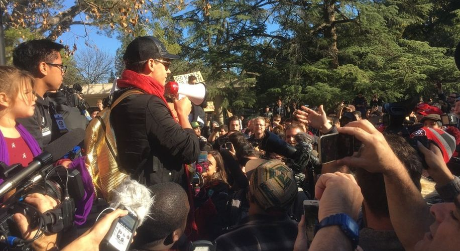 Student Activists Force Milo Yiannopoulos and Martin Shkreli Off UC Davis Campus