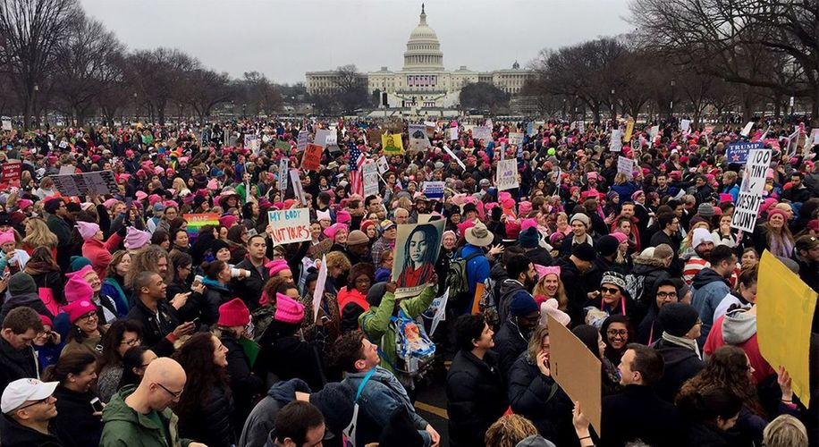 Millions Make History at Women's Marches in US and Around the World