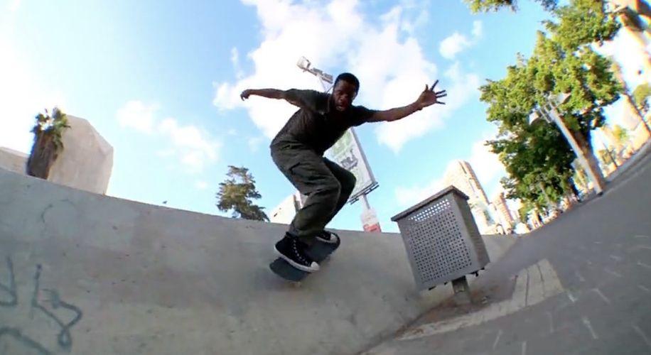 """The Converse Team Skates Israel in """"At Yafa"""""""