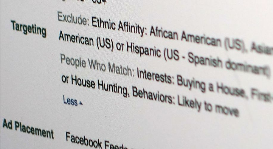 Facebook Bans Advertisers From Discriminating by Race
