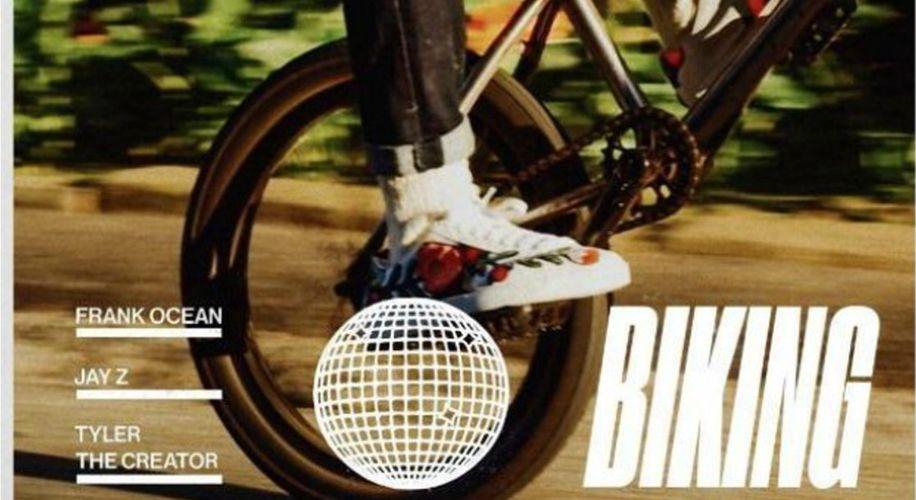 "Frank Ocean Goes ""Biking"" With Jay Z & Tyler, The Creator"