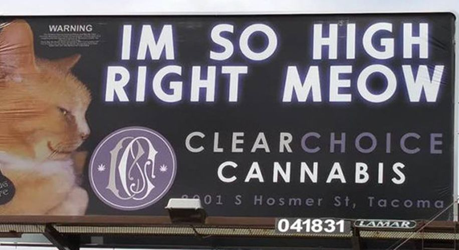 Washington Legislature Passes Bill to Crack Down on Marijuana Billboards