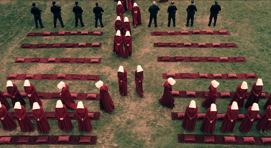 "How the Powerful Visuals of ""The Handmaid's Tale"" Tell Their Own Story"