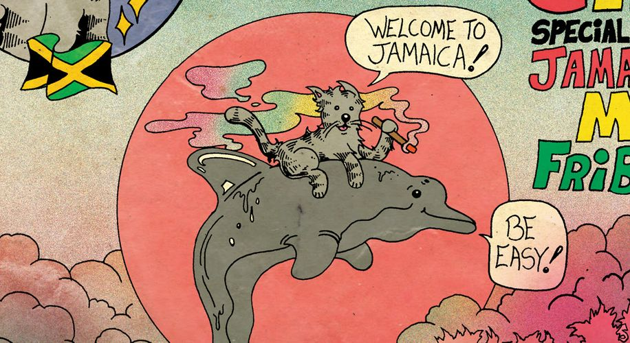"""""""Frisby The Cat: Jamaica'n Me Fribsy"""": A Special Edition of Our Comic Series"""