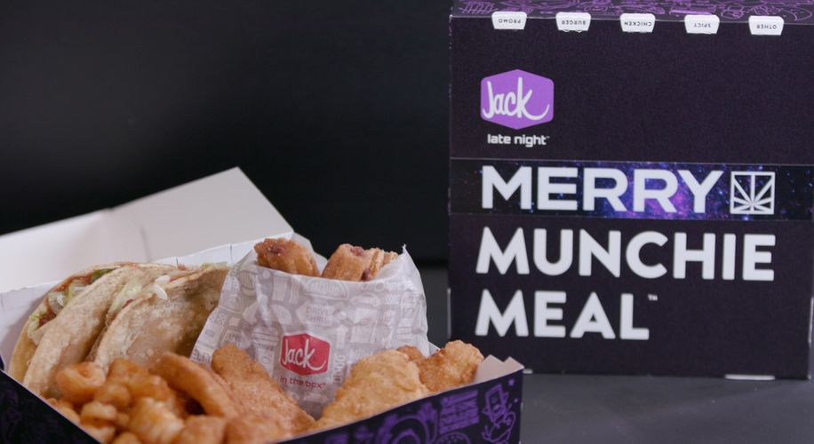Jack in the Box Partners with MERRY JANE to Launch the MERRY Munchie Meal!