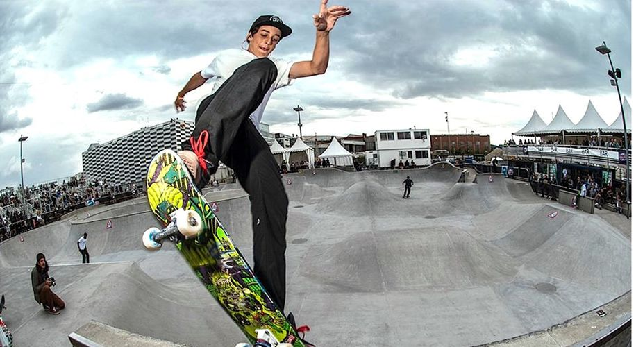 The US Anti-Doping Agency Suspends First Skateboarder for Marijuana