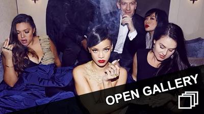Rihanna Smoking Blunts