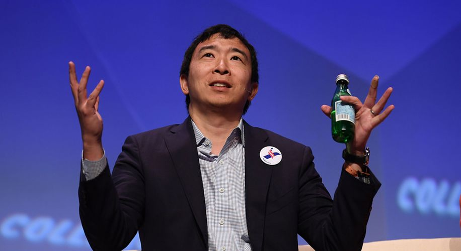 Presidential Candidate Andrew Yang Calls for Opioid Decriminalization
