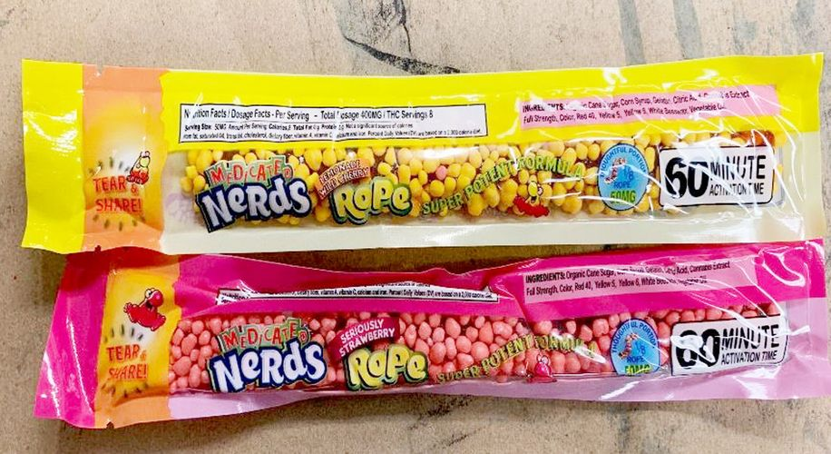 Feds Issue Warning About THC Candies Disguised as 'Nerds Rope'