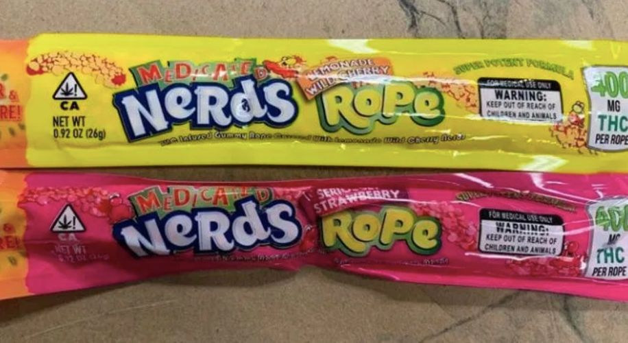THC-Infused Nerds Rope Continues to Be Confiscated Around the Country