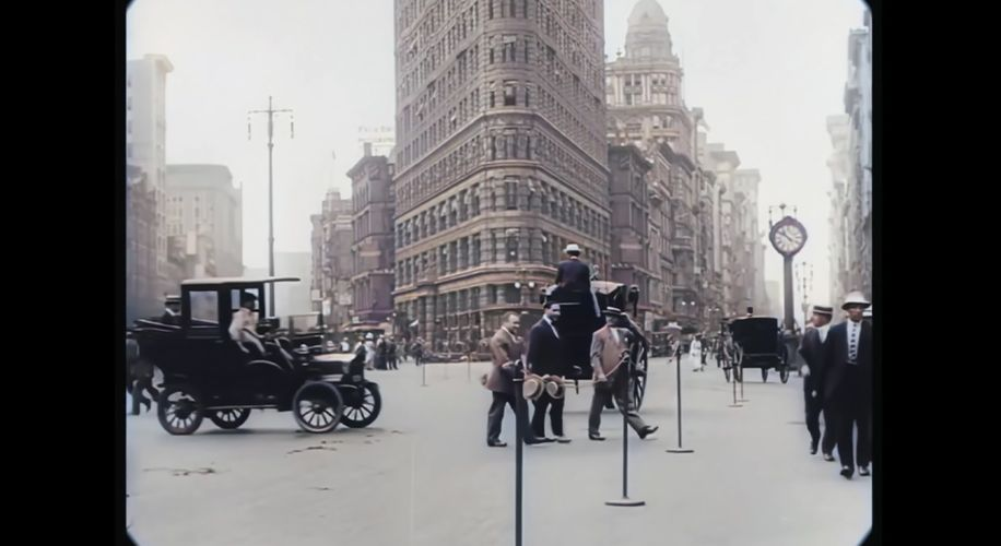 This Trippy Video Let's You Walk Through New York City in 1911