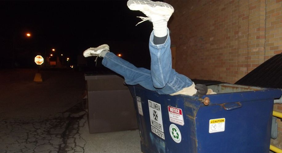 Dumpster Divers Digging for Dispensary Weed Are Wasting Their Time