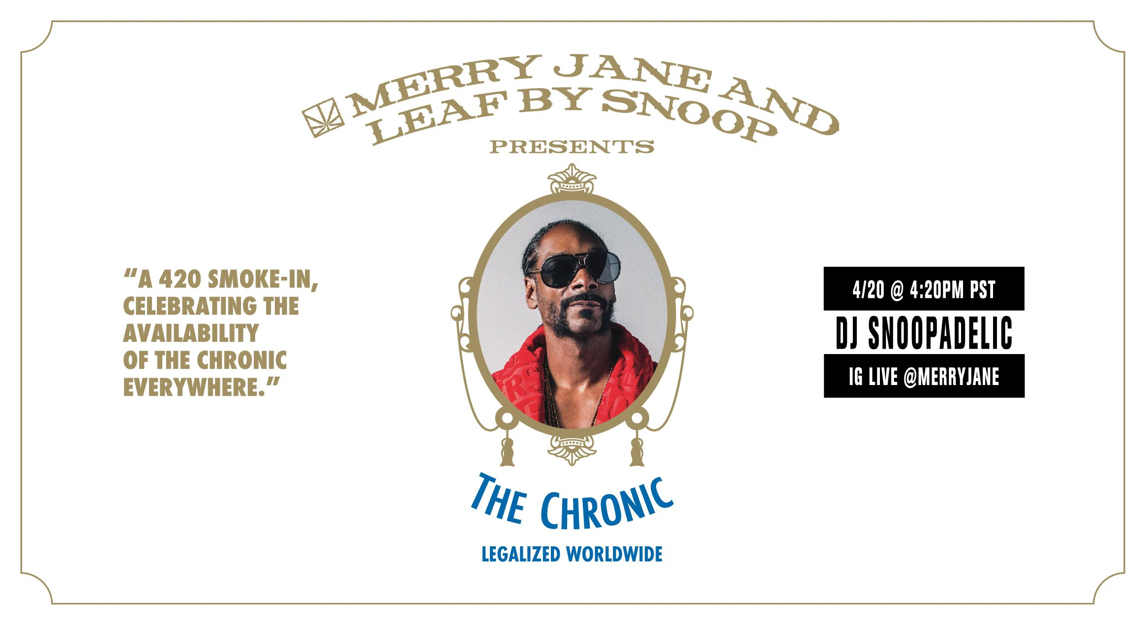 "Watch Snoop Dogg Celebrate ""The Chronic"" During Special 4/20 Livestream"