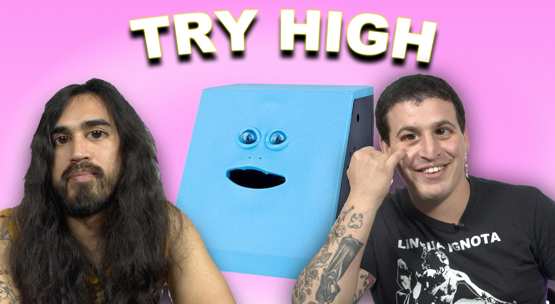 Dalton and Makal Test a Bank That Eats Your Money | TRY HIGH