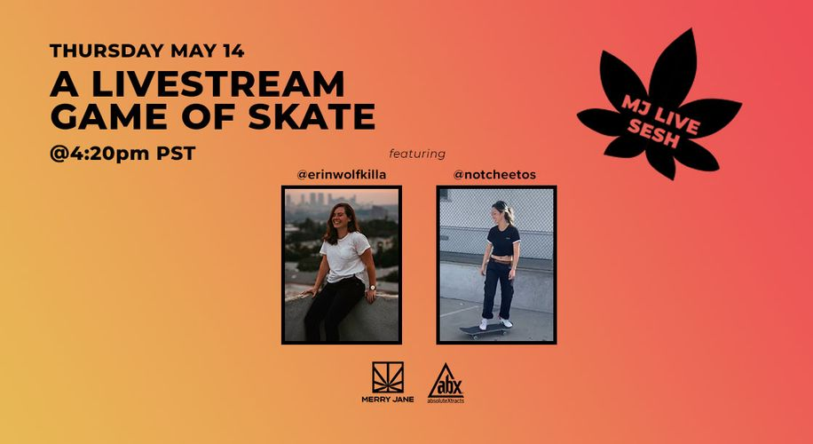 Drop Into MERRY JANE's IG Livestream Skate Sesh and Snag Yourself Some Swag
