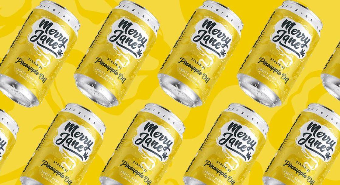 "MERRY JANE's ""Pineapple OG"" Hemp Beer Drops in the Land Down Under"