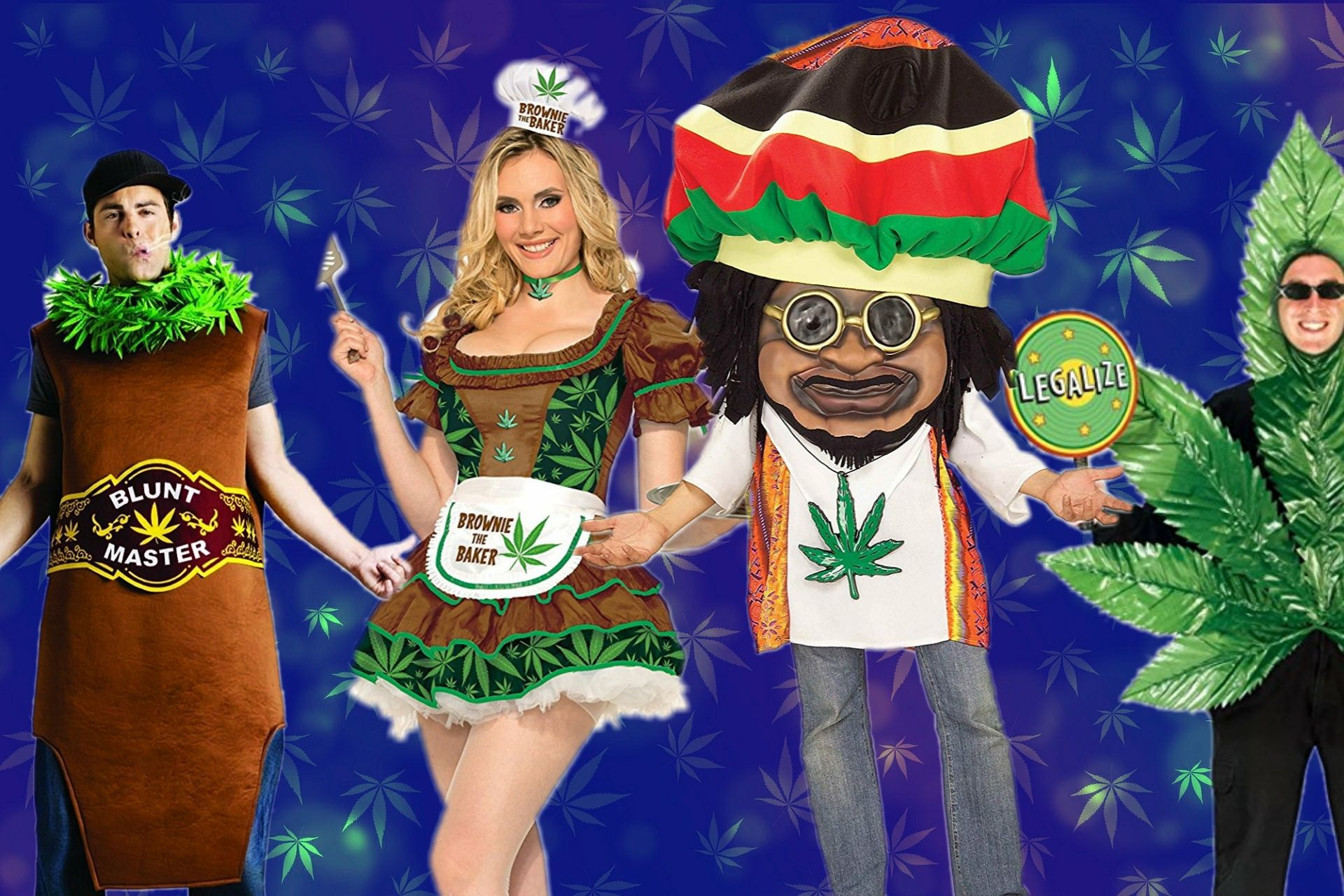 Here Are the Most Highlarious Halloweed Costumes of All Time