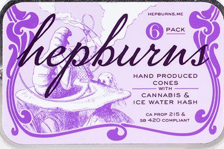 The Hepburns Hand Produced Cones 6pk