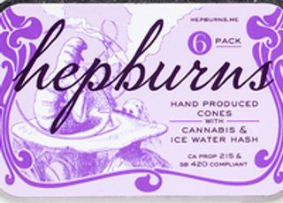 The Hepburns Hand Produced Cones 6pk