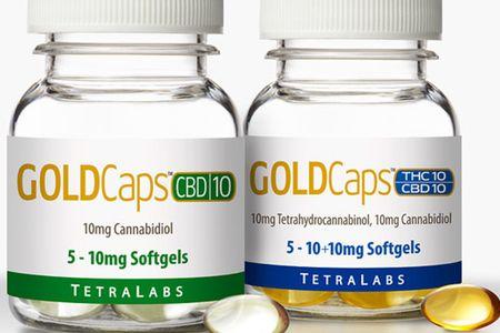 TetraLabs GoldCaps CBD
