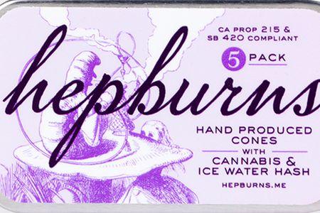 The Hepburns Hand Produced Cones 5pk