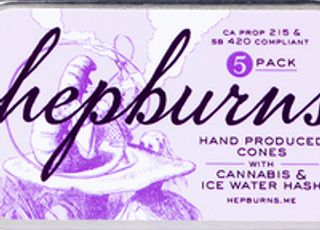 The Hepburns Hand Produced Cones 5pk