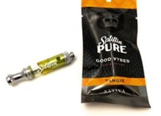 Spliffin Pure Tangie Oil Cartridge