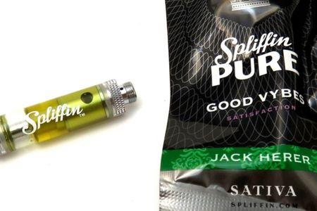 Spliffin Pure Jack Herer Oil Cartridge
