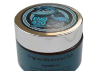 Cannariginals Emu 420 Essentials Gold Original Medicated Rub
