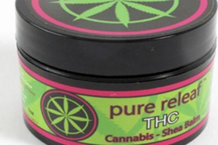 Pure Releaf Cannabis Shea Balm THC