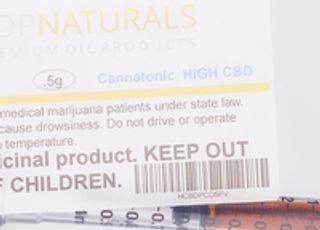 PopNaturals CO2 Oil Syringe - High CBD