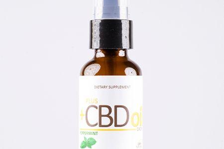 Plus CBD Oil Drops (Peppermint)