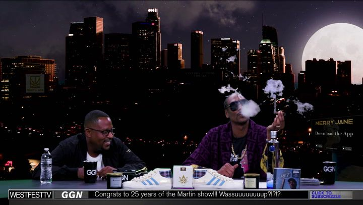 The One and Only Martin Lawrence Goes Inside the Smoker's Studio