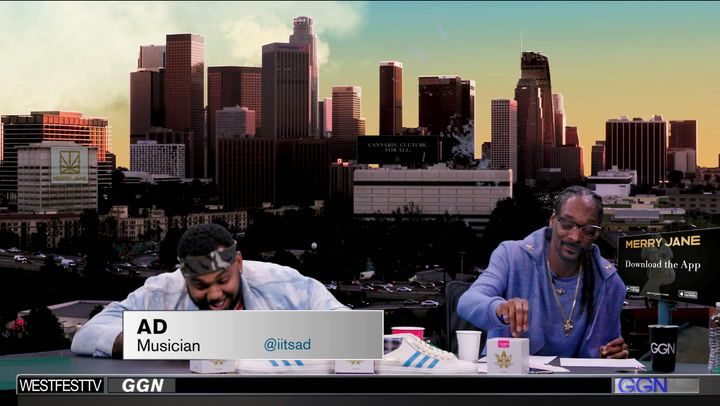 AD Calls Out Uncle Snoop for the Blunt on GGN
