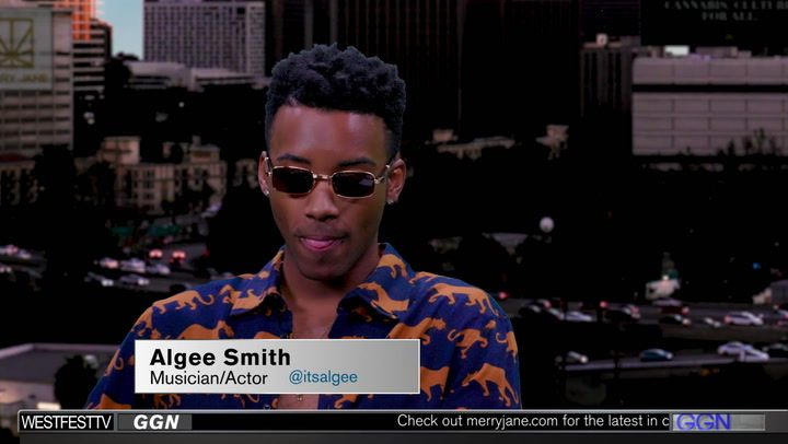 Actor Algee Smith Goes Inside the Smoker's Studio on GGN